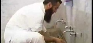 Offer wudu or perform ablution