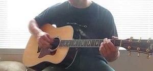 "Play John Mayer ""Why Georgia"" on acoustic guitar"