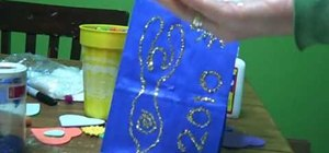 Make Wiccan New Year's spell bags