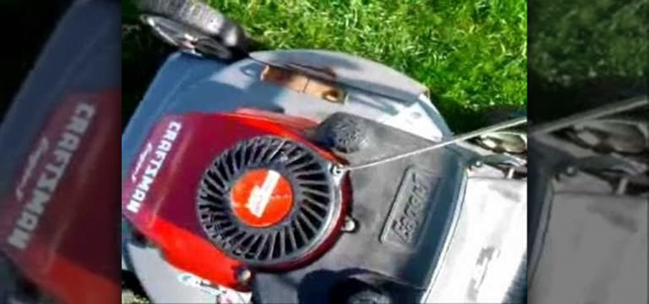 How to Repair your lawn mower's pull starter with silicone