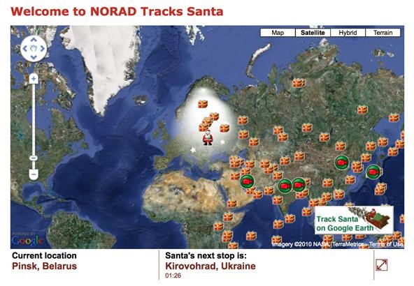 How to Track Santa Right Now with the NORAD Santa Tracker & Google Maps / Earth