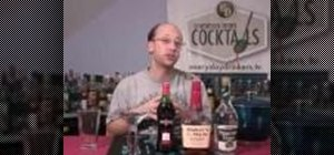 """Make a winter holiday """"Jack Frost Manhattan"""" cocktail"""