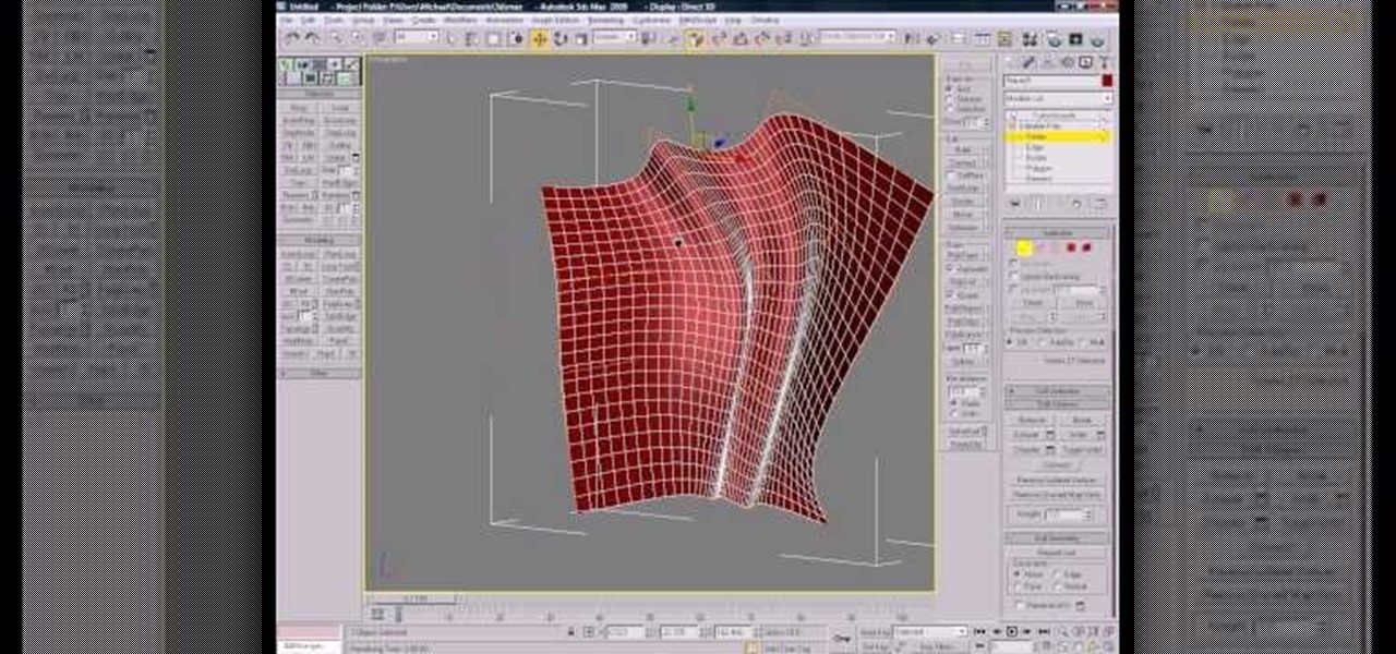 How to use polygon modeling in 3d studio max autodesk for 3d studio max models