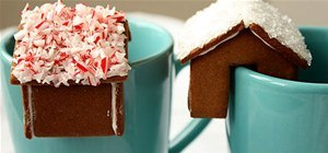 Make a Mini Mug-Perching Gingerbread House