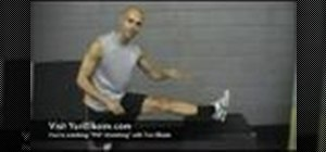 Stretch a PNF hamstring