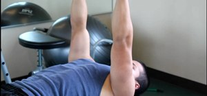 Work out your triceps brachii using an extension exercise