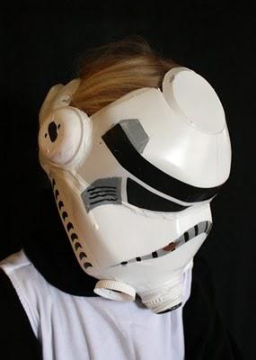 Halloween HowTo: Milk Jug Storm Trooper Helmet