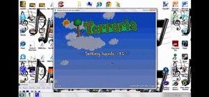 Make a server to play Terraria multiplayer