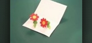 Make a paper spring and create crafts with it