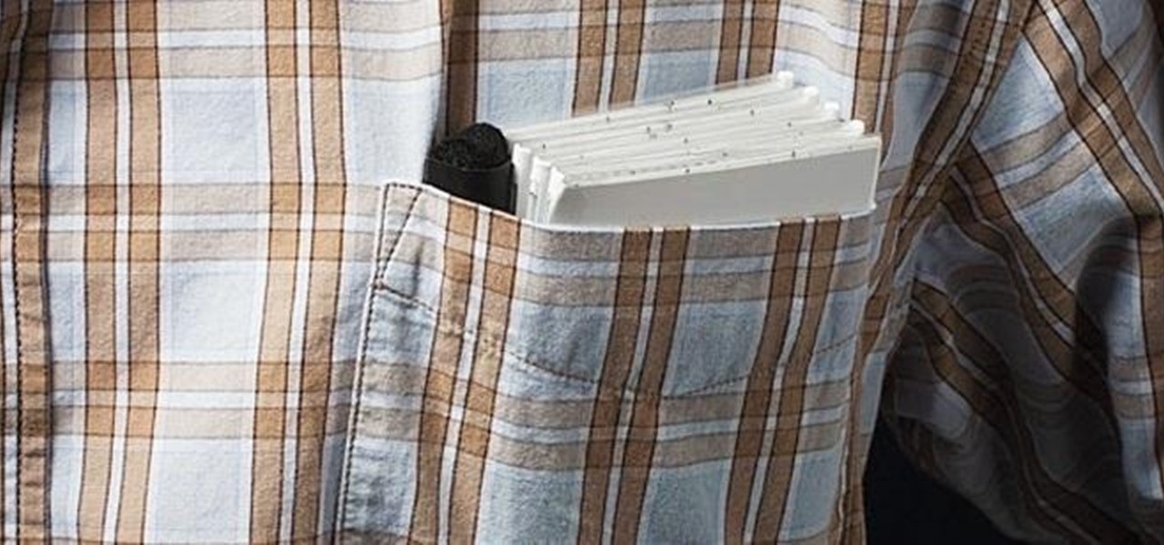 Make a Dry Erase Board That'll Fold Up to Fit in Your Pocket