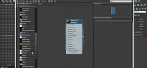 Use the Slate material editor in 3ds Max 2011