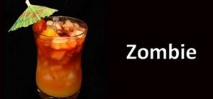 Make a Zombie cocktail