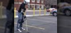 Play street hockey