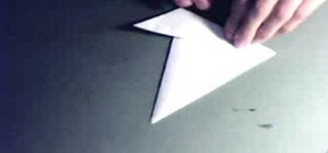 Make claws by folding pieces of paper
