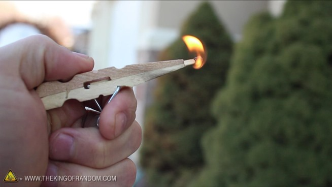 This little pocket pistol will shoot a matchstick with power, blast ...