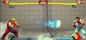 Start off playing Street Fighter IV