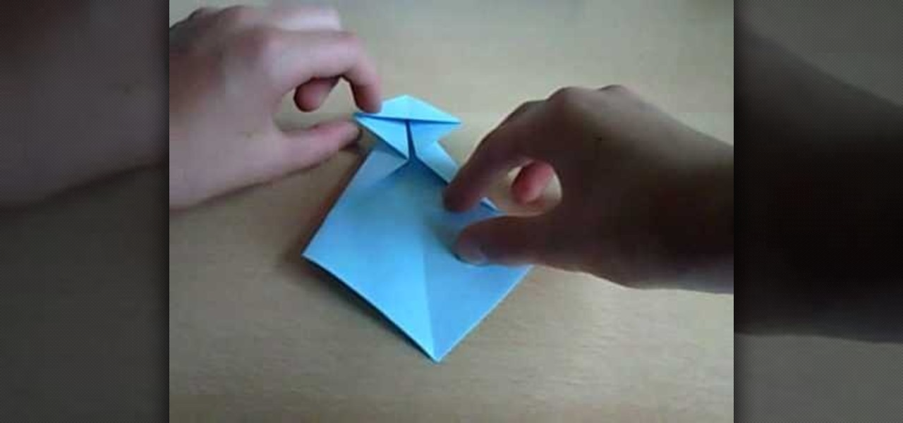 How To Fold An Origami Baby Cradle For Beginners Origami
