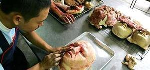 Thai Baker Sells Edible Body Parts