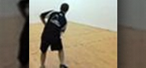 Do advanced racquetball drills