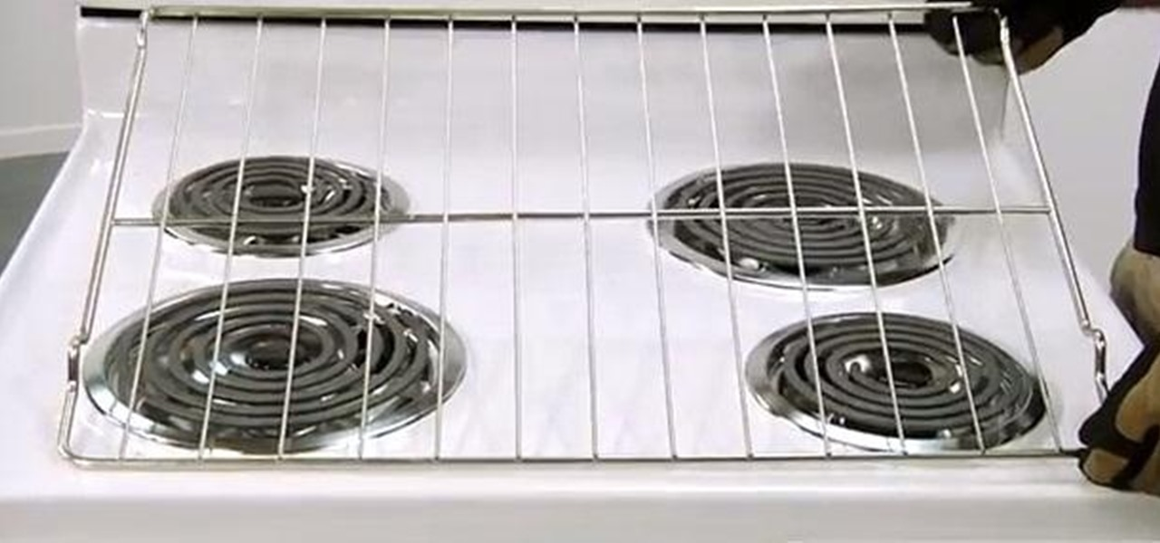 Replace an Oven Rack