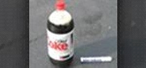 Make a Coke and Mentos rocket