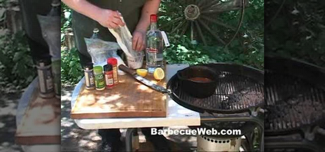how to make an underground bbq pit
