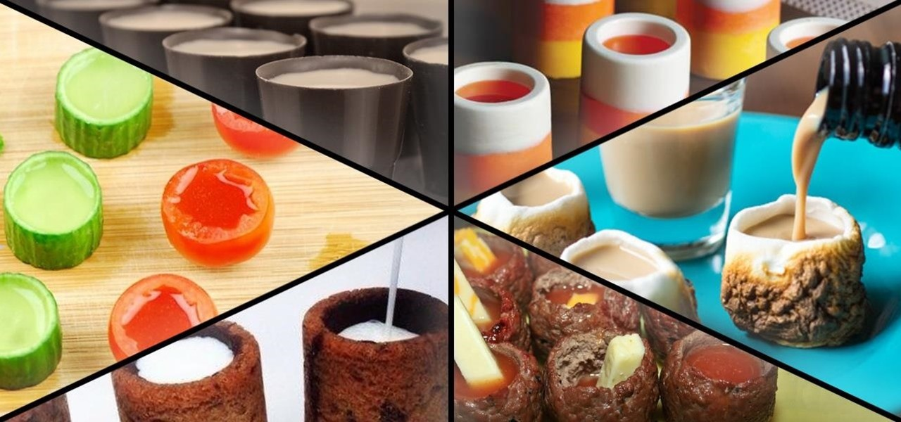 Get Your Drink on with These DIY Edible Shot Glasses