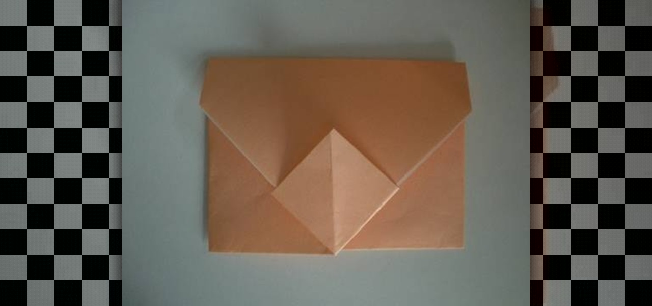 How To Make A Quick And Simple Origami Envelope WonderHowTo
