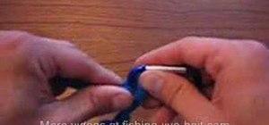 Tie an improved clinch knot