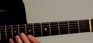 Play arpeggios on acoustic guitar