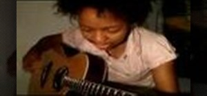 """Play """"Fall to Pieces"""" by Avril Lavigne on the guitar"""