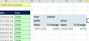Make an Excel PivotTable year category from text dates
