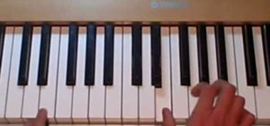 "Play ""Supermassive Black Hole"" by Muse on the piano"