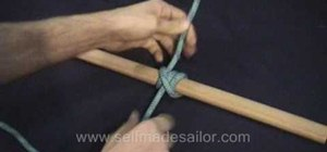 Tie a Tautline Hitch knot