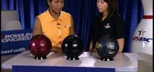 Choose a bowling ball