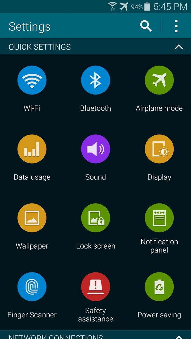 How to Black Out System Apps on Your Samsung Galaxy S5 for Better Battery Life