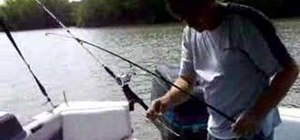 Troll with planer bobbers to catch catfish