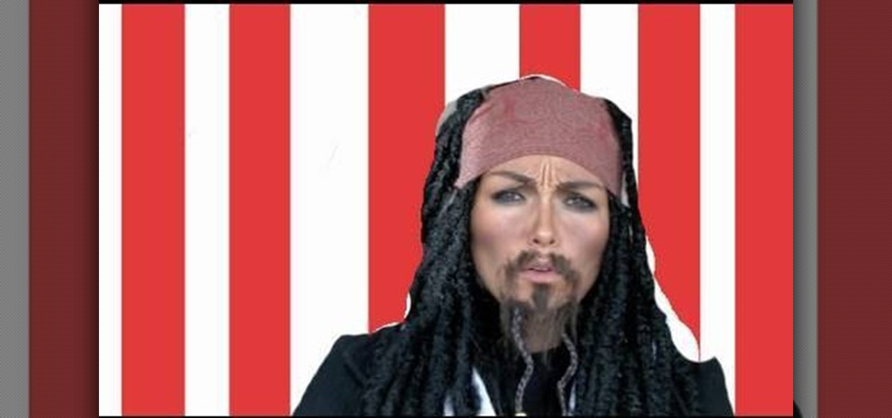 how to do captain jack sparrow s makeup from pirates of