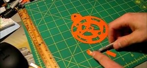 Make a dreamcatcher using only duct tape