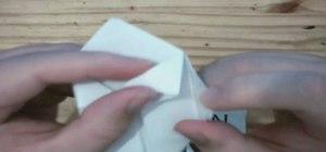 Create an origami balloon