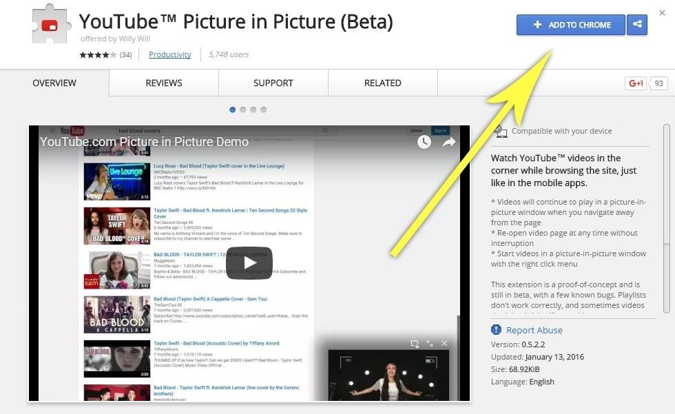 This Extension Brings YouTube's Best Mobile Feature to Your Desktop