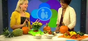 Make a quick and easy Thanksgiving centerpiece for your table