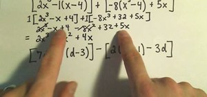 Add, subtract, multiply & simplify polynomials