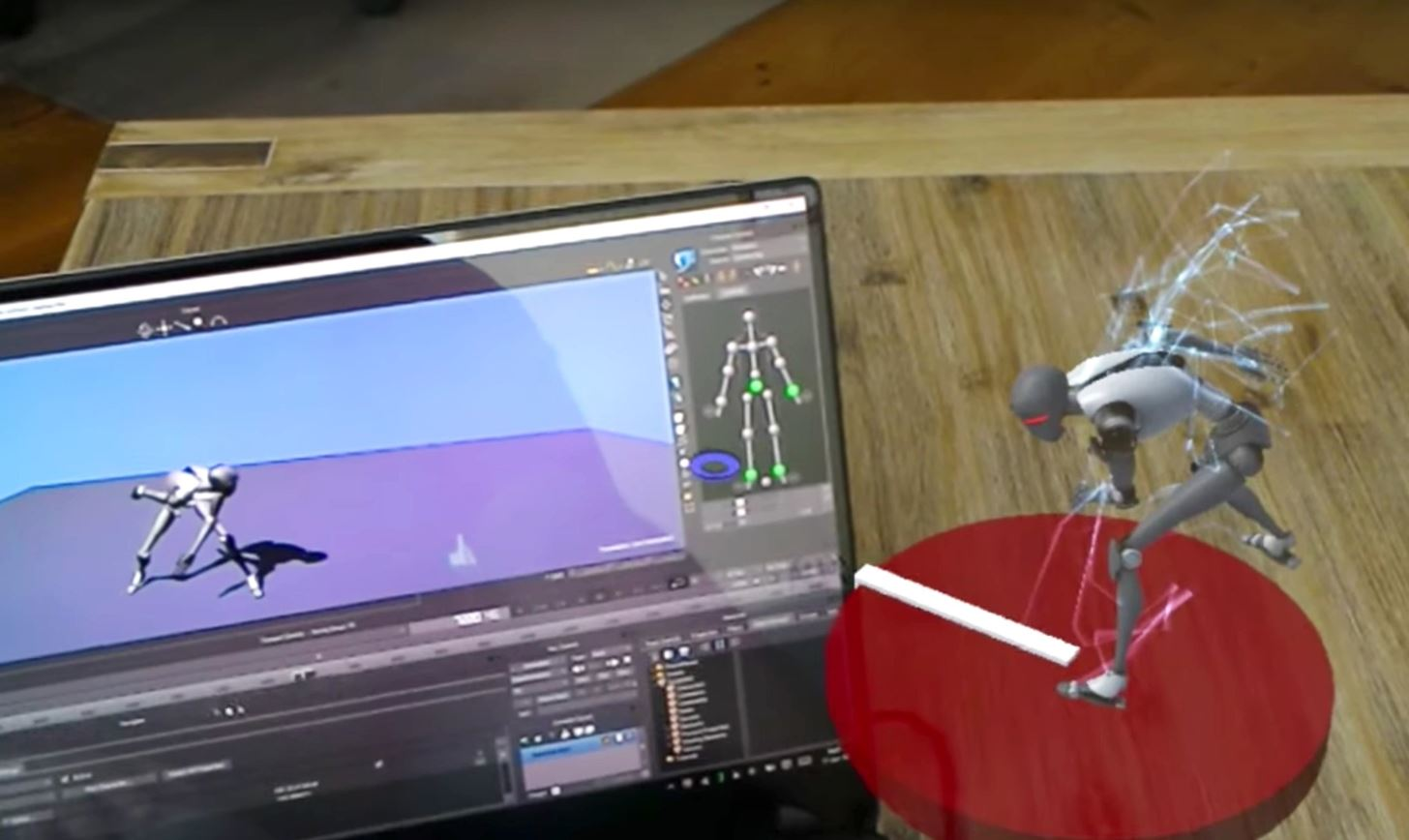 This App Streams Custom Holograms from a Computer to the HoloLens