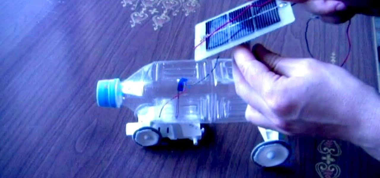 How to Make a solar-powered plastic bottle toy car « Hacks, Mods ...