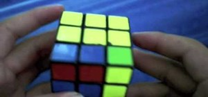 "Solve a Rubik's Cube with the ""winter variation"""