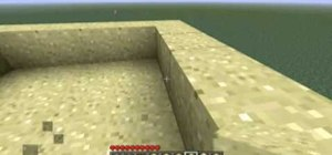 Build a pyramid in Minecraft