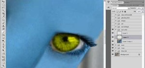 "Use Photoshop to transform into a Na'vi from ""Avatar"""