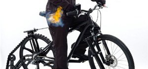 Bicycle of Death (Yes, That's a Flamethrower)
