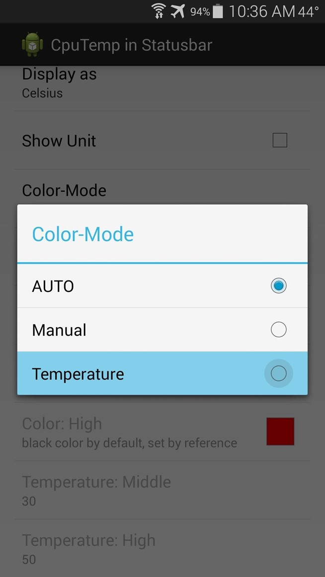 youtube how to change fahrenheit to celsius in android auto